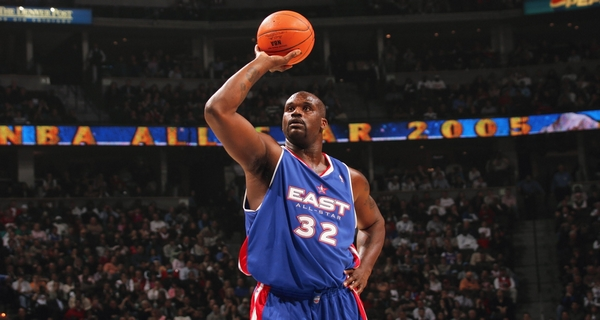 Shaquille O'Neal best nba players in history