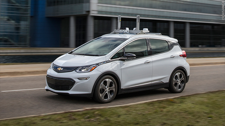 self driving chevy volt
