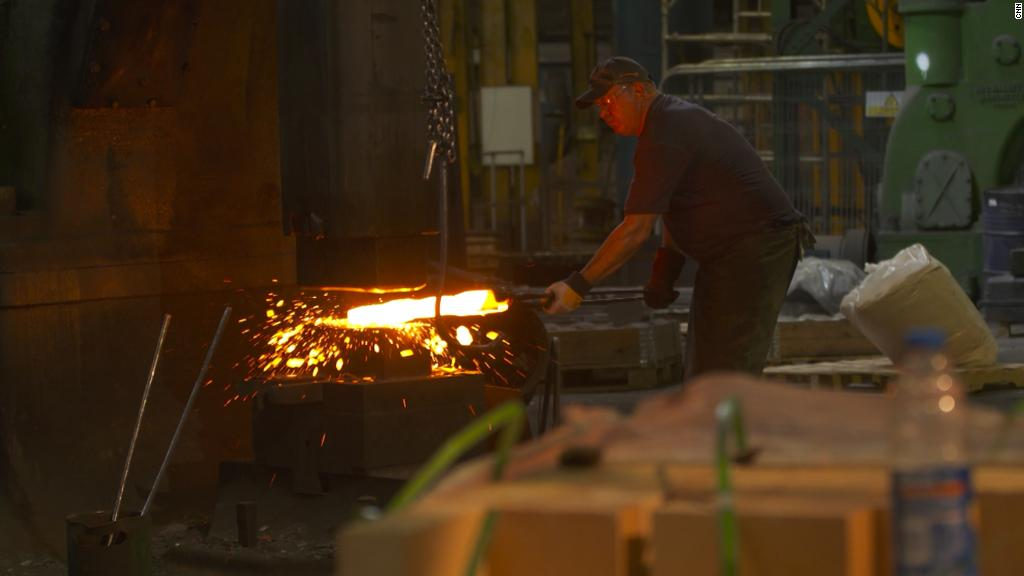Steel company caught between tariffs and Brexit