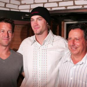 James Denton, Tom Werner, Bronson Arroyo