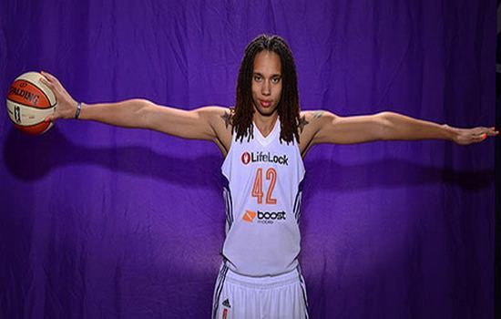 Brittney Griner tallest Female Basketball Players