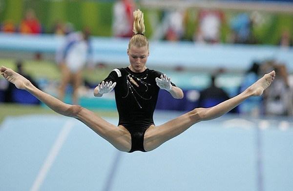 Svetlana Khorkina Tallest Female Gymnast