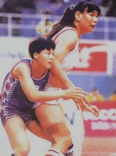 Zheng Haixia tallest Female Basketball Players