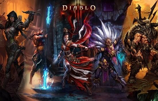 Diablo III Popular Online Games