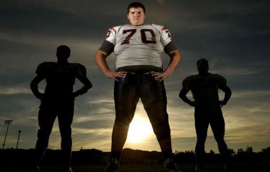 John Krahn The Tallest NFL Players in the History
