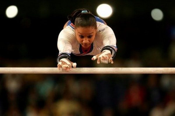 Kathleen Lindor Tallest Female Gymnast In the Olympics