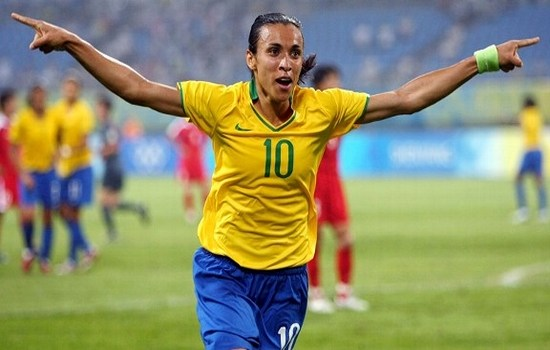 Marta Vieira Highest-paid Female Footballers