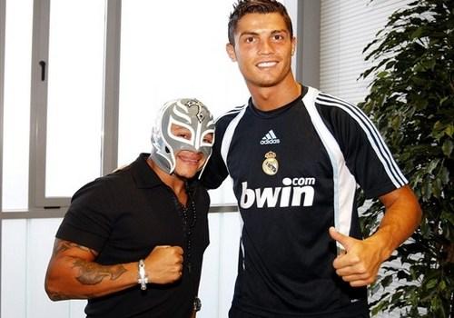 Rey Mysterio WWE Superstars Favorite Football