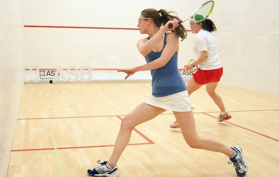 Squash an excellent activity to lose weight