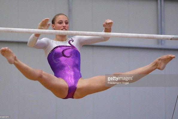 marie sophie hindermannTallest Female Gymnast