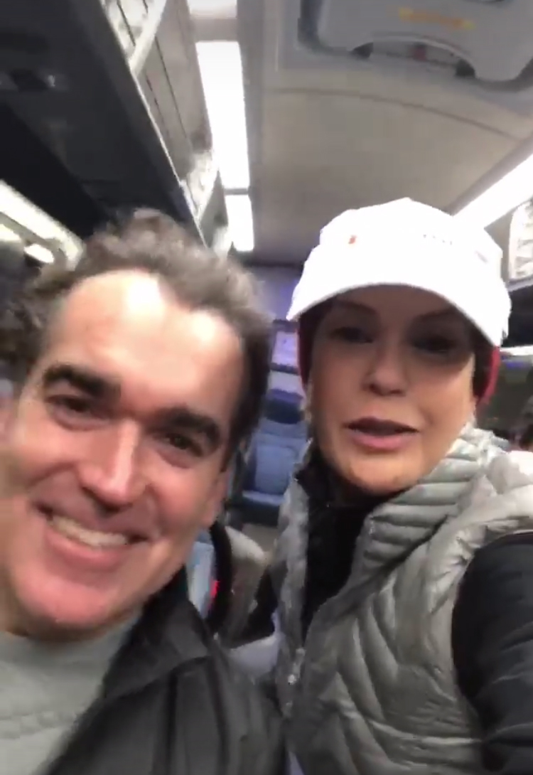 Teri Hatcher and Brian d'Arcy James