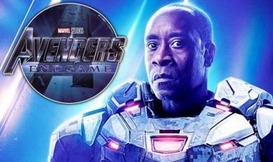 Avengers Endgame: First look at HUGE War Machine SPOILER