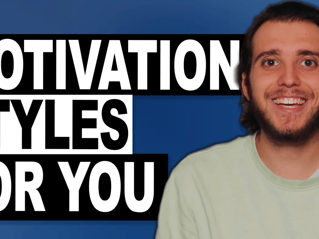 Why Can't I Motivate Myself? Understanding the Motivation Styles.